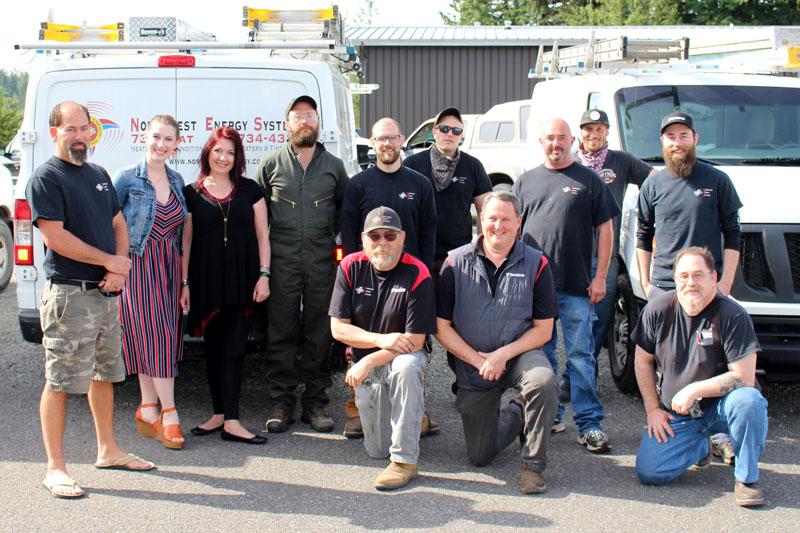 Northwest Energy Systems Team Photo